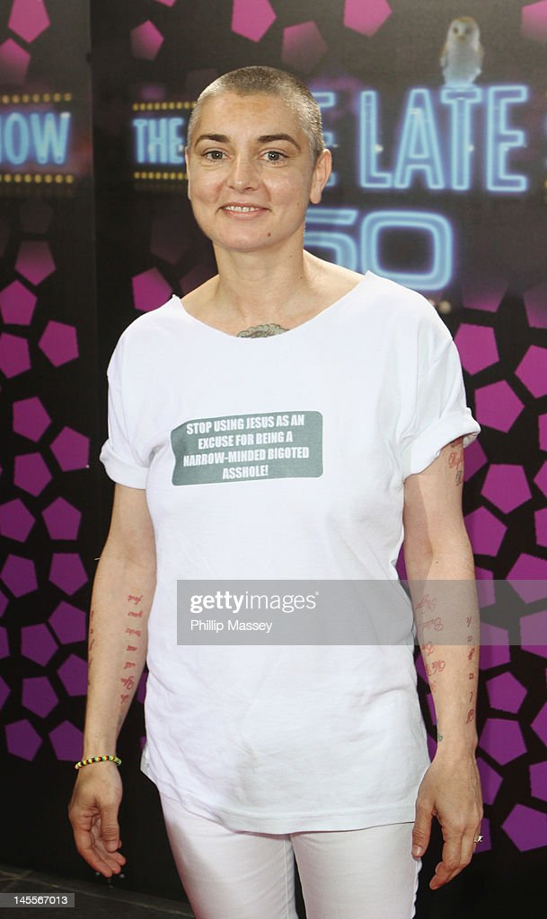 Sinead O'Connor attends the 50th Anniversary Of 'The Late Late Show' on June 1, 2012 in Dublin, Ireland.