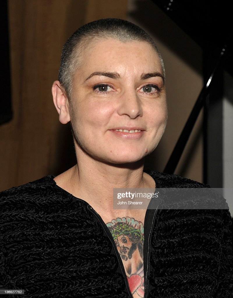 Sinead O'Connor attends the 'Albert Nobbs' Soundtrack Release Party at Palihouse Holloway on January 6, 2012 in West Hollywood, California.