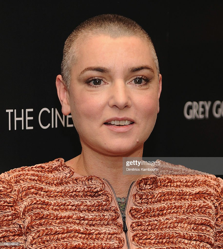 Sinead O'Connor attends the Giorgio Armani & Cinema Society screening of 'Albert Nobbs' at the Museum of Modern Art on December 13, 2011 in New York City.
