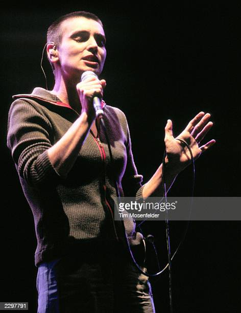 Sinead O'Connor Performing at the Guiness Fleadh at San Jose State University in San Jose Calif. On June 28th, 1998. Image By: Tim...