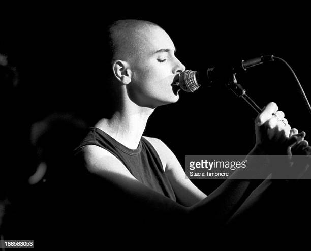 Sinead O'Connor performs on stage at Metro in Chicago Illinois United States on April 11 1988