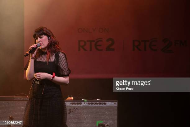Sinead White performs with Daithi performs at the RTE Choice Music Prize at Vicar Street on March 05, 2020 in Dublin, Dublin.