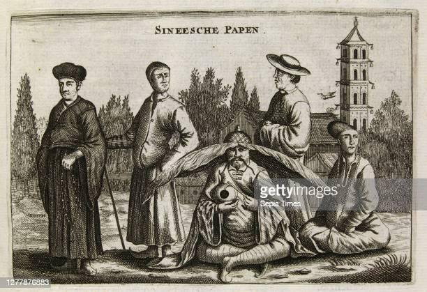 Sineesche Papen, Het gezandtschap der Neêrlandtsche Oost-Indische Compagnie, aan den grooten Tartarischen Cham, den tegenwoordigen keizer van China:...