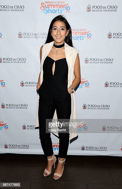 Sinem Meltem Dogan attends the Summer Shorts 2016 OffBroadway opening party at Fogo de Chao Churrascaria on August 8 2016 in New York City