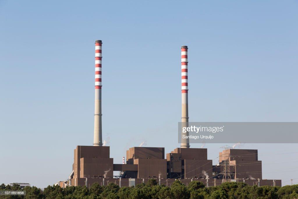 Sines thermal power station : Foto de stock