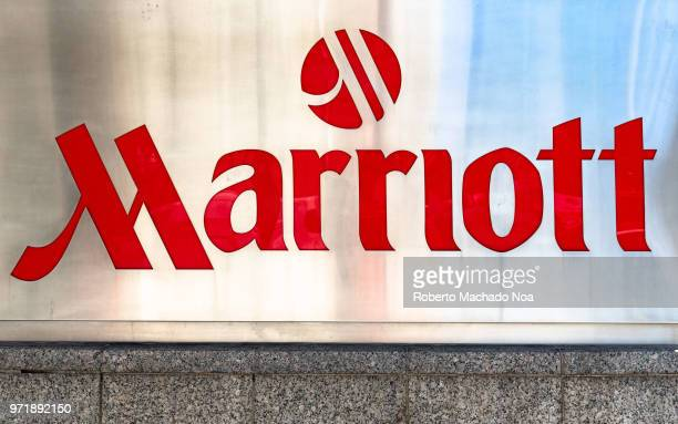 Sing and logo of the Marriott Hotels and Resorts The chain is repeatedly voted as one of the best places to work