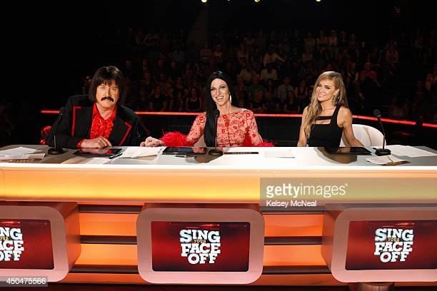 OFF '105 106' 'Sing Your Face Off' a talent variety competition featuring celebrities who are transformed and trained to perform as legendary musical...