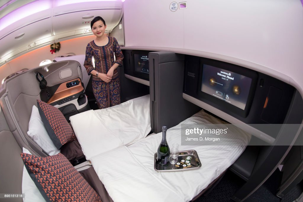 Image result for singapore airlines new a380 business class