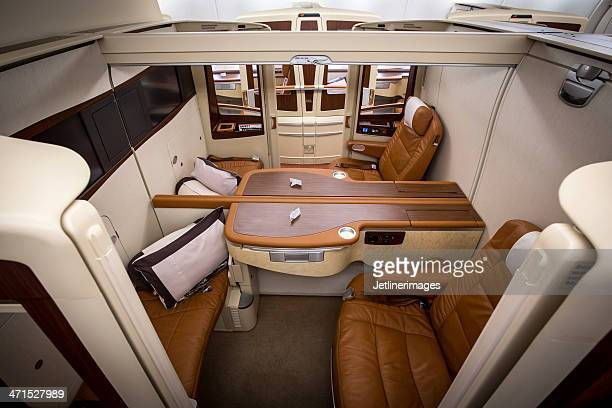Singapore Airlines prima classe, suite