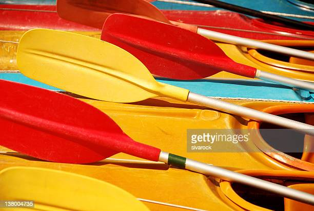 singapore boats - kayak stock pictures, royalty-free photos & images
