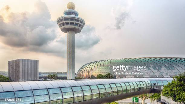 singapore, changi airport - チャンギ空港 ストックフォトと画像