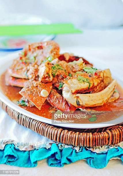 singapore chili crab - pimenta em pó - fotografias e filmes do acervo