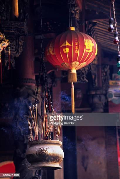Singapore Chinatown Thian Hock Keng Temple 18391842 Incense Burner