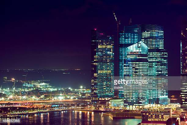 singapore city - izusek stock pictures, royalty-free photos & images