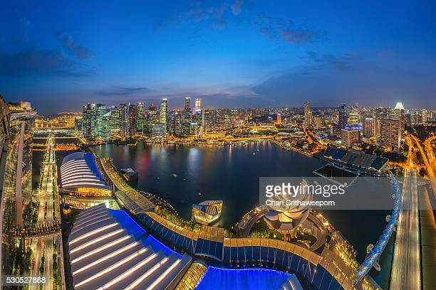 Singapore Cityscape from Skypark