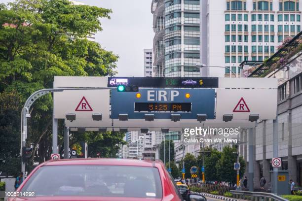 Singapore electronic road pricing (ERP)