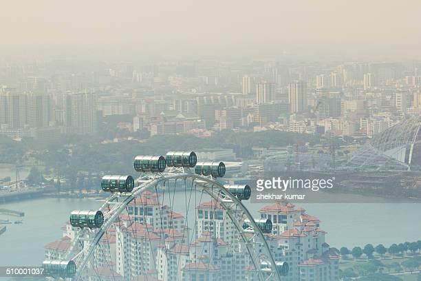 Singapore Flyer giant ferris wheel