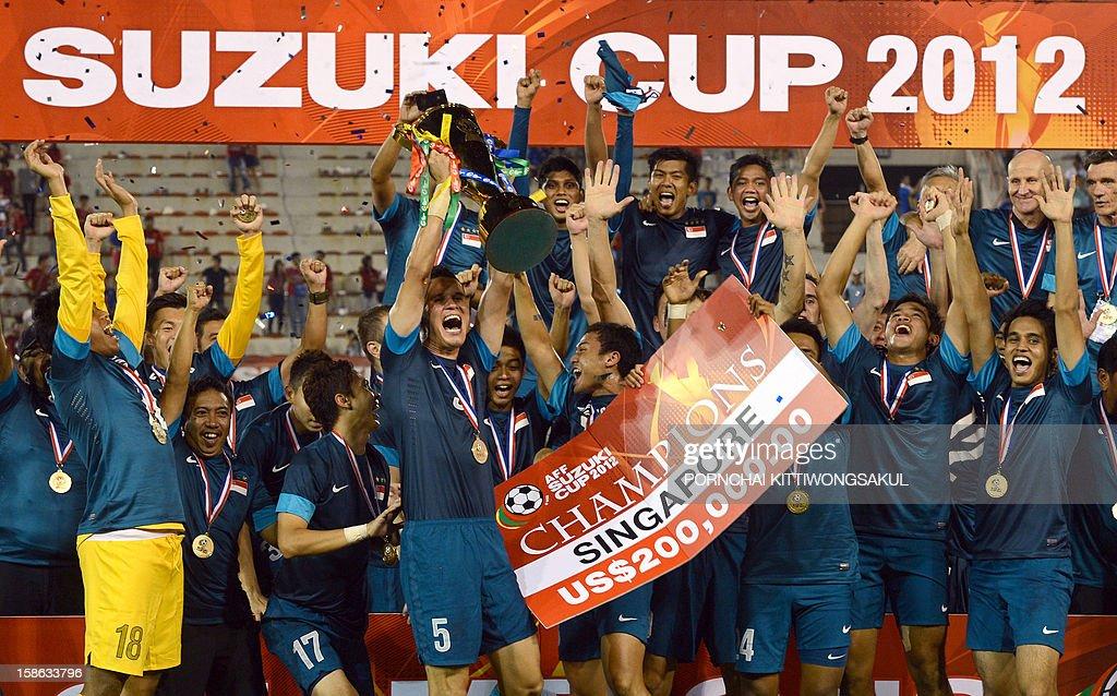 FBL-ASIA-SUZUKI-THA-SIN : News Photo