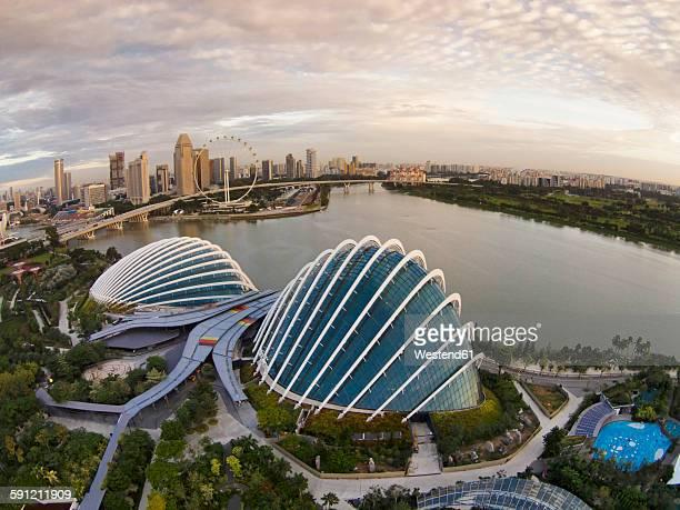 Singapore, Gardens by the bay at Marina Bay
