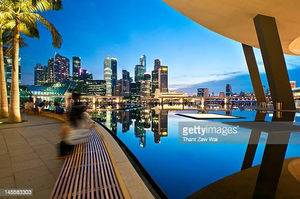 Singapore in reflection