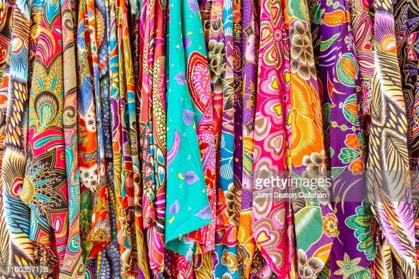 singapore, kampung glam - batik stock pictures, royalty-free photos & images