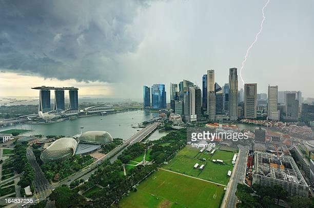 Singapore marina bay - Big Storm