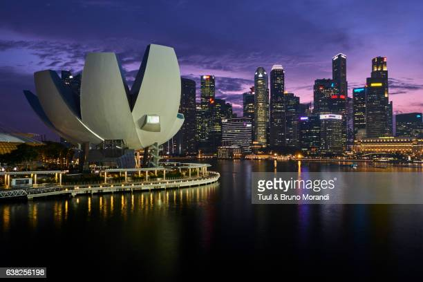 Singapore, Marina Bay, business center