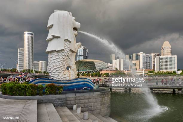 Singapore, Marina Bay, business center