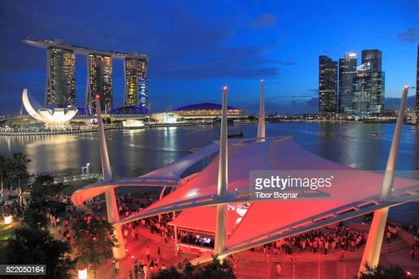 Singapore Marina district