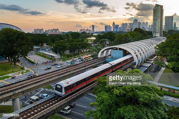 Singapore Mass Rapid Transit (MRT) - Kallang station