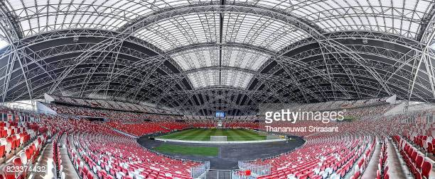 Singapore National Stadium general view during the International Champions Cup match between FC Bayern and FC Internazionale at National Stadium on...
