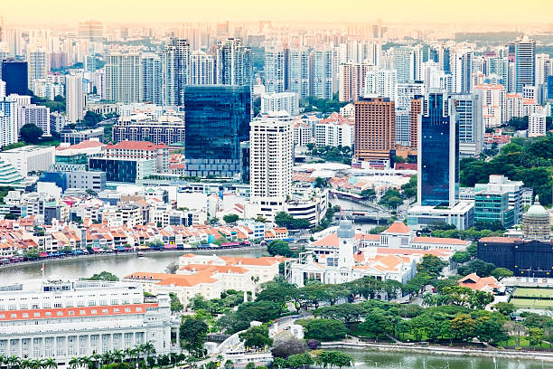 Singapore Panorama Wall Art