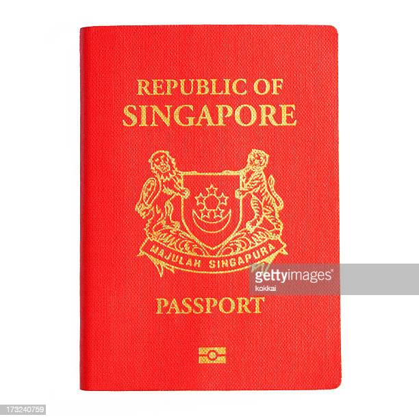 Singapore Passport (Isolated)