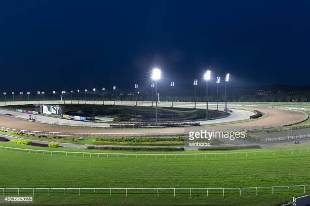 singapore racecourse - horse racecourse stock photos and pictures