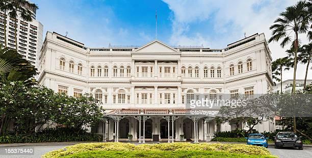 Singapore Raffles historic colonial landmark