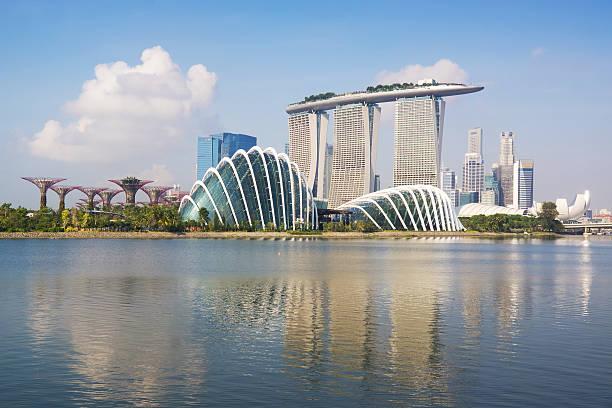 Singapore Skyline Wall Art