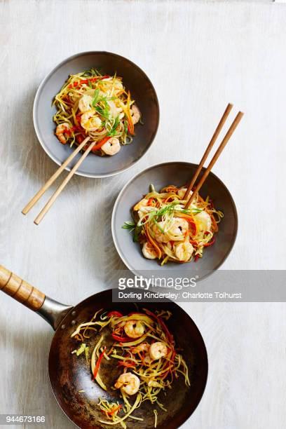 Singapore sweet potato noodles 1