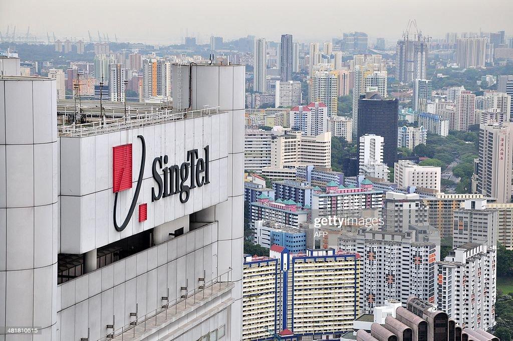 SINGAPORE-TELECOM-SINGTEL : News Photo