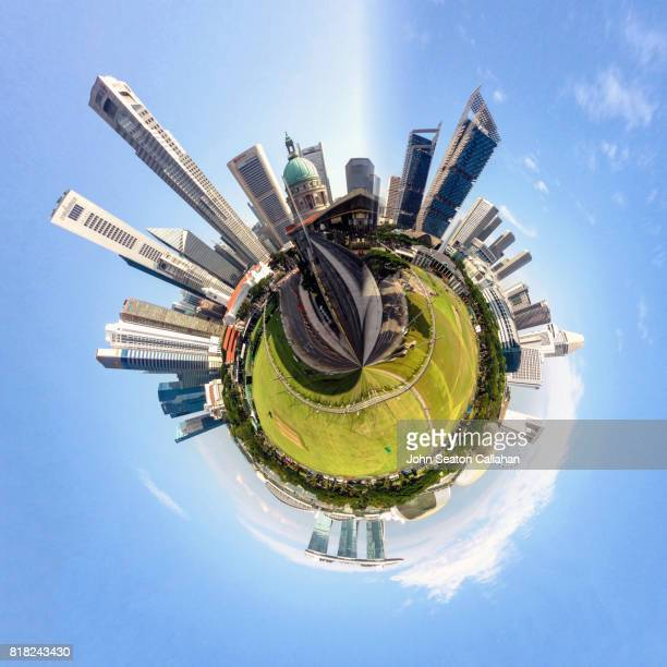 Singapore, The Padang and Central Business District
