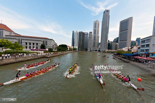 CONTENT] Singapore traditional dragon boat racing on the Singapore River at Boat Quay Dragon boat racing an amateur watersport which has its roots in...