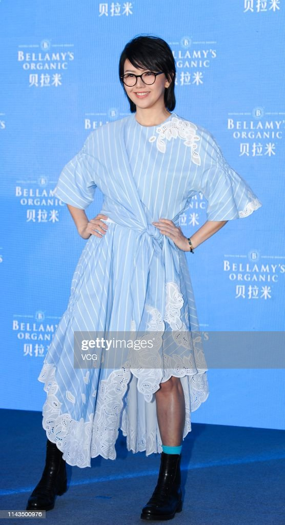 CHN: Stefanie Sun Attends Bellamy's Organic Activity In Shanghai