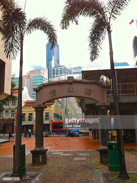 Singapore's Chinatown is an ethnic neighbourhood featuring distinctly Chinese cultural elements and a historically concentrated ethnic Chinese...