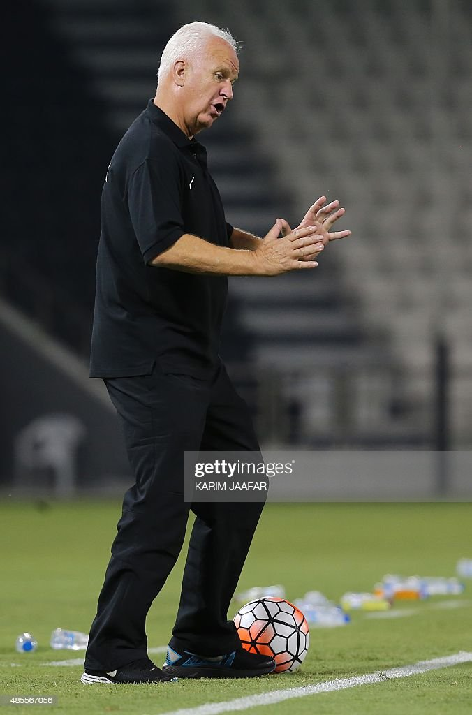 Bernd Walter singapore s coach bernd walter stange reacts during the