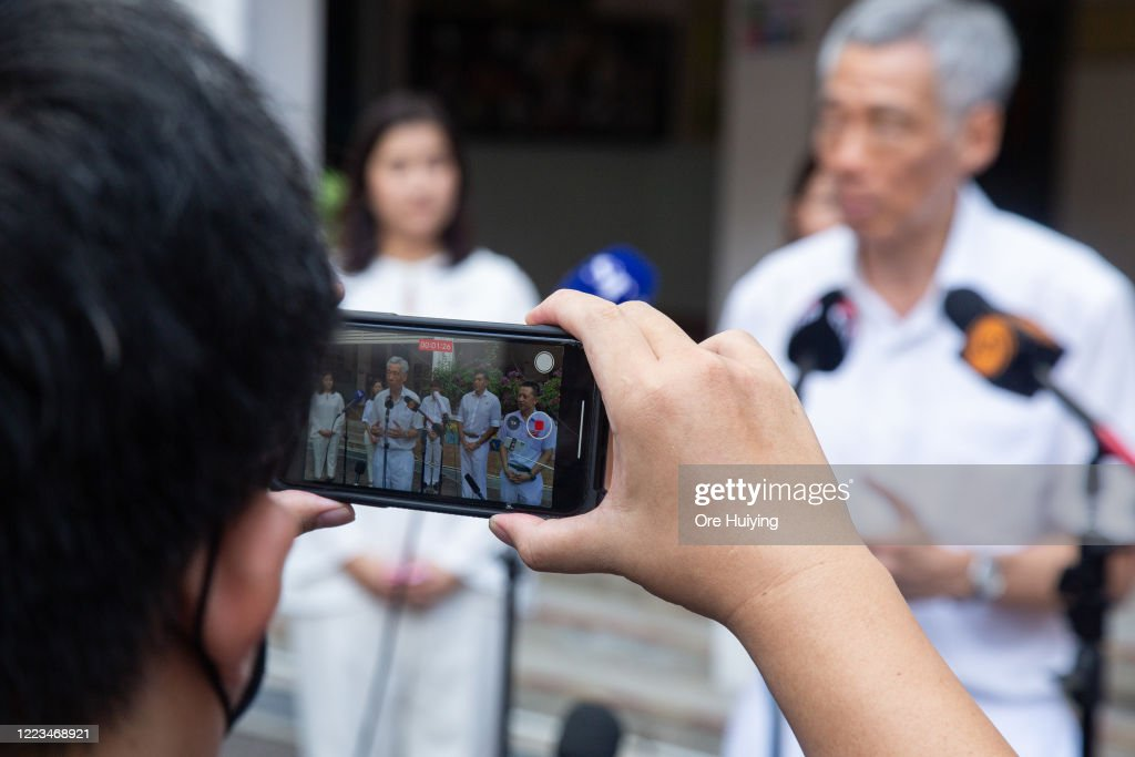 Singapore General Election 2020 : News Photo