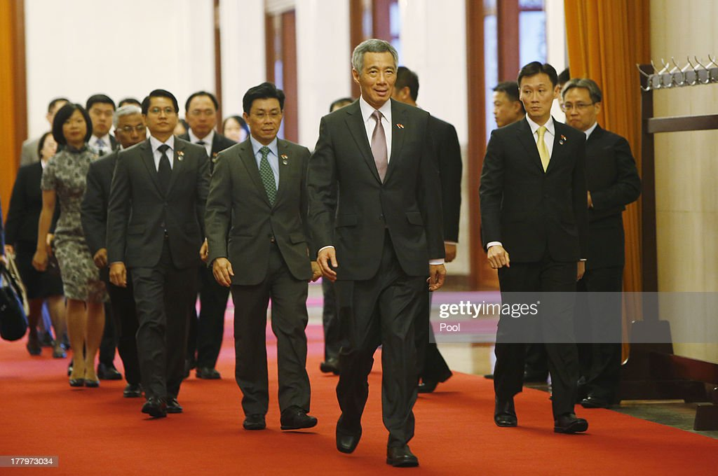 Image result for lee hsien loong and xi jinping