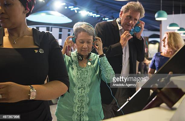 Singapore's Prime Minister Lee Hsien Loong's wife Ho Ching SecretaryGeneral of the Organization for Economic Cooperation and Development Jose Angel...