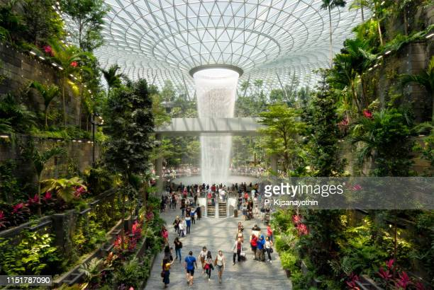 Singapore's world tallest vertex waterfall