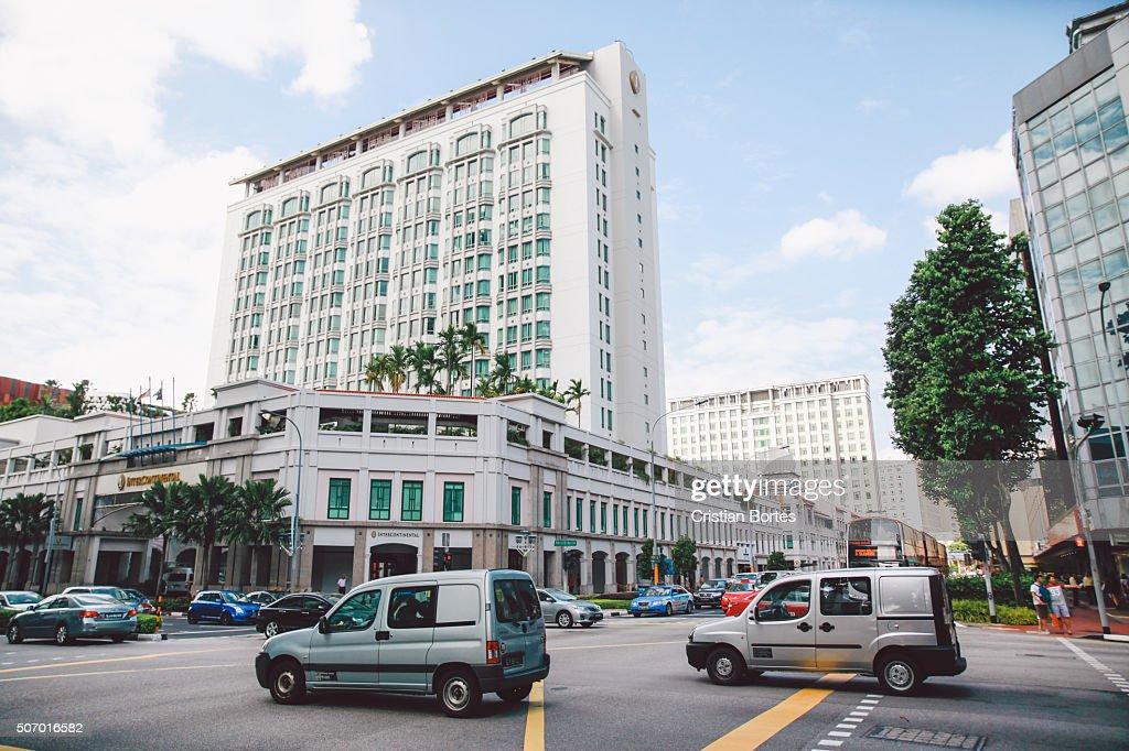Singapre streets : Stock Photo