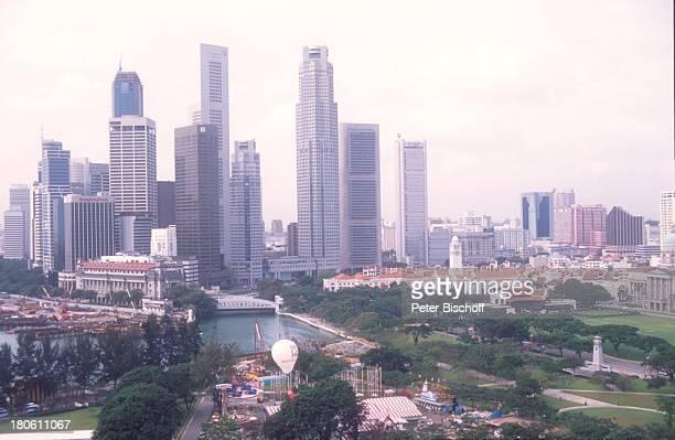 Singapur/Asien Reise Skyline Hochhaus Wolkenkratzer Stadt Meer