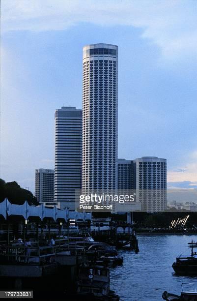 Singapur/Asien Reise Skyline Wolkenkratzer Hochhaus